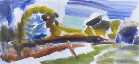 the orchard path by ivon hitchens