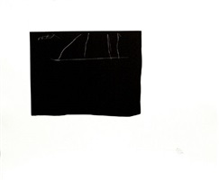 black flag by robert motherwell