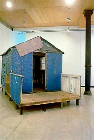 the hut by tracey emin
