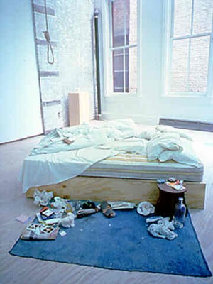 my bed by tracey emin
