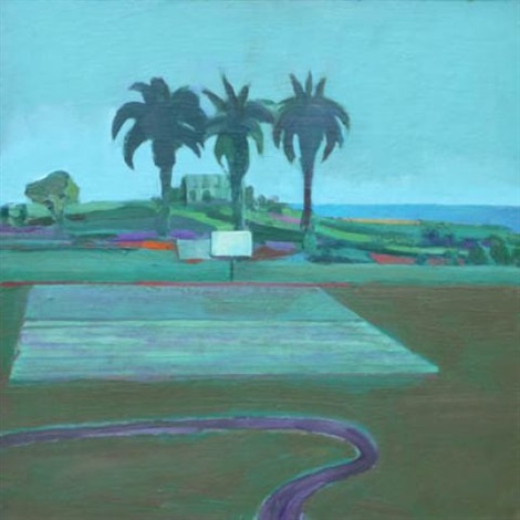 landscape with palms by william theophilus brown