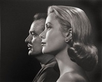 prince rainier iii and princess grace of monaco by yousuf karsh