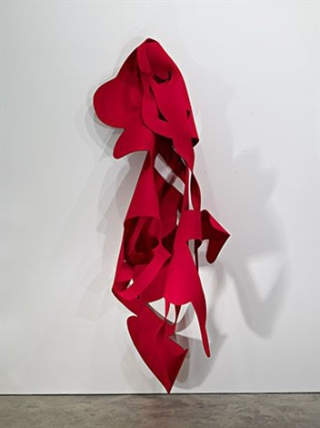 felt #12 / red by arturo herrera