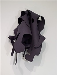 felt #1 / warm gray by arturo herrera
