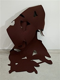 felt #4 / brown by arturo herrera