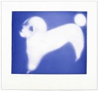french poodle (blue) by joe andoe
