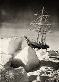 the returning sun by frank hurley