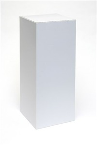 flat-pack plinth proto edition by peter saville