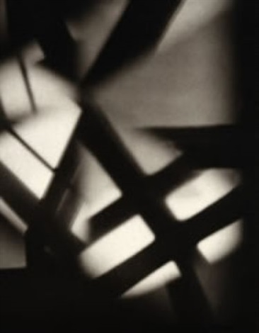 arrow shadows, vortograph by alvin langdon coburn