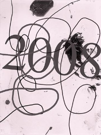 wool 2008 (edition for parkett 83) by christopher wool