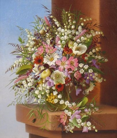 spring bouquet by adelheid dietrich