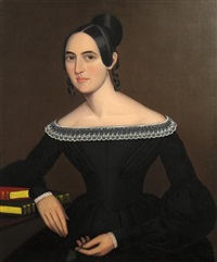 a portrait of jeanette payne by ammi phillips