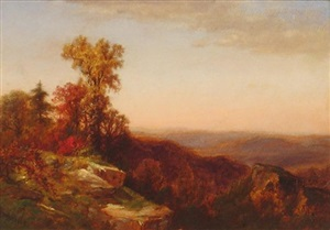 view in the catskill mountains by james david smillie