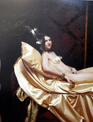 the history of hats in art (fashion series for the ny times): manet/mcqueen by joel-peter witkin
