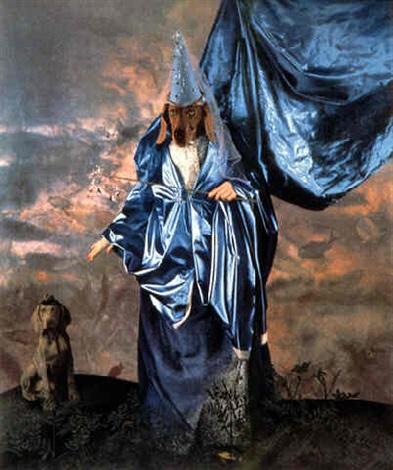 fairy godmother by william wegman