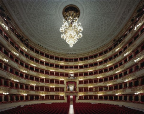 la scala, milan, italy by david leventi