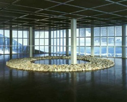 zugspitz circle by richard long