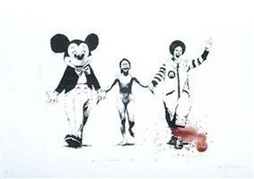 can't beat the feeling by banksy