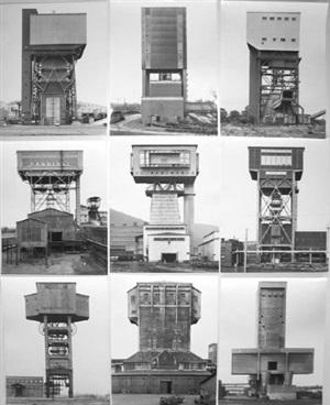 <!--49-->winding towers (anlagen) by bernd and hilla becher