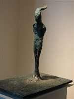<!--01-->standing figure ii by nathan oliveira