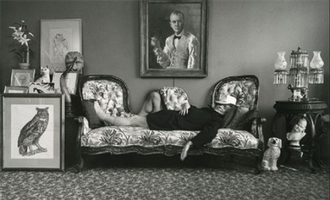 truman capote, new york city, ny 1977 by arnold newman