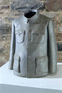 mao jacket, soft sculpture series by sui jianguo