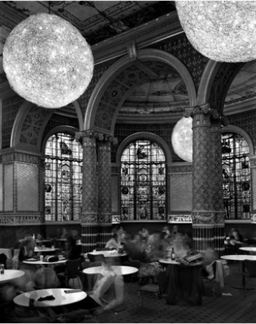 gamble room, victoria & albert museum, london by matthew pillsbury