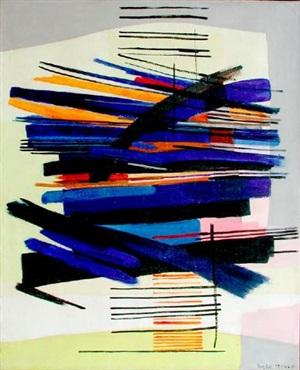 composition ii by huguette arthur bertrand
