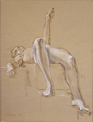 portrait of ralph mcwilliams by paul cadmus