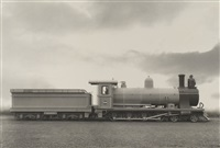 untitled - train engine (+ 3 others; 4 works) by unknown