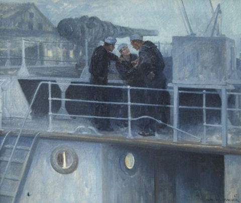 serious discussion by anton otto fischer