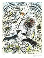 le ciel (the sky) by marc chagall