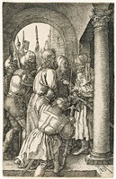christ before pilate by albrecht dürer
