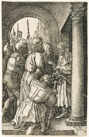 christ before pilate by albrecht dürer