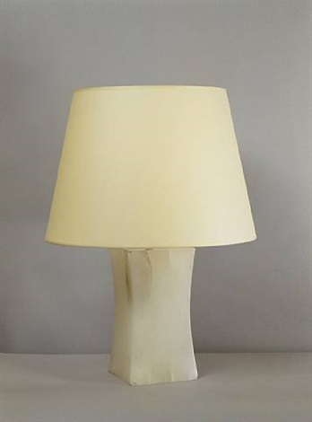 lampe en alb tre table lamp in alabaster by jean michel. Black Bedroom Furniture Sets. Home Design Ideas
