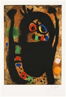 la femme aux bijoux (the bejeweled woman) by joan miró