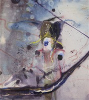 untitled (chinese painting) by julian schnabel