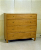 commode / chest of drawers by jean-michel frank