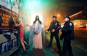 intervention (from the series: homeboy) by david lachapelle