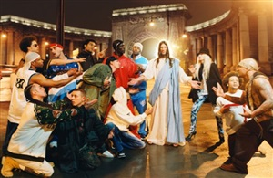 sermon (from the series: homeboy) by david lachapelle