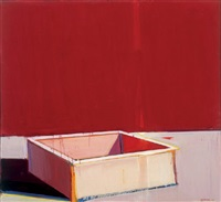 still life with the white box by raimonds staprans