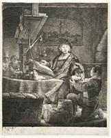 jan uytenbogaert, the gold- weigher by rembrandt van rijn