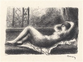 odalisque by pierre-auguste renoir