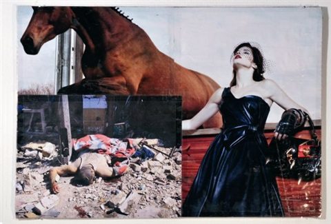 ur-collage a13 by thomas hirschhorn