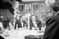 frank sinatra and jackie gleason by john dominis