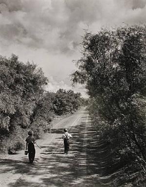 going fishing, texas by john dominis