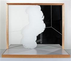 gelöschte sitzende figur (erased seated figure) by hugo suter