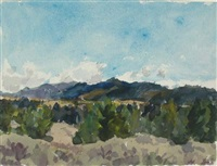 untitled (wyoming series) by eugene leake
