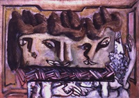 heads by mark rothko