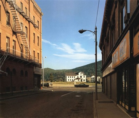 holden st. north adams, massachusettes 13/7/1974 by stephen shore